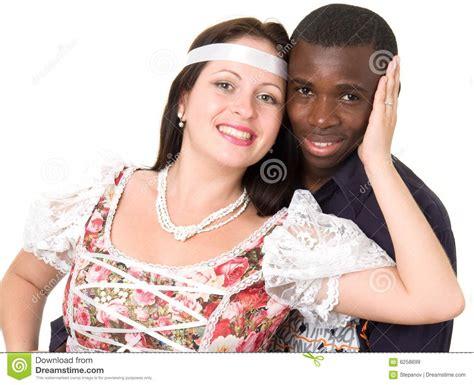 imagenes hombre negro mujer blanca homem negro e mulher branca imagens de stock royalty free