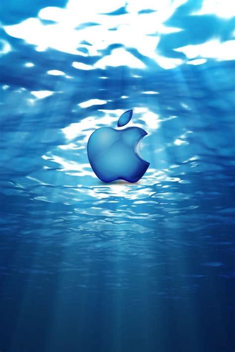 wallpaper apple water water apple iphone wallpapers iphone 5 s 4 s 3g wallpapers