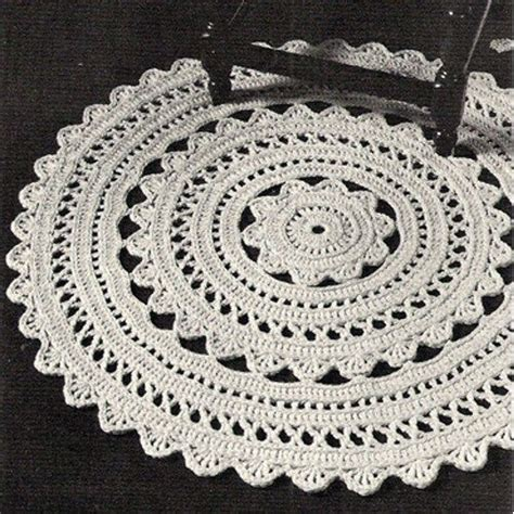 17 best ideas about crochet doily rug on
