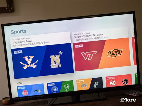 How To Find Where Live How To Live Sports On Apple Tv Imore