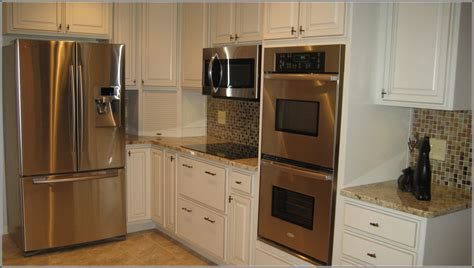 Sears Kitchen Design by Double Oven Cabinet Size Home Design Ideas