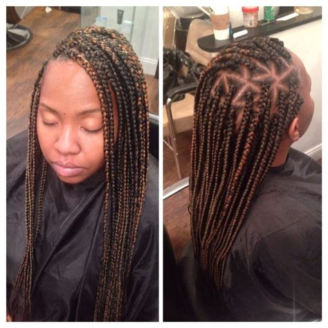 23 best images about Triangle part box braids on Pinterest