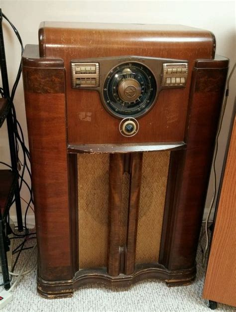 zenith record player cabinet vintage 1940 s zenith console high end radio art deco