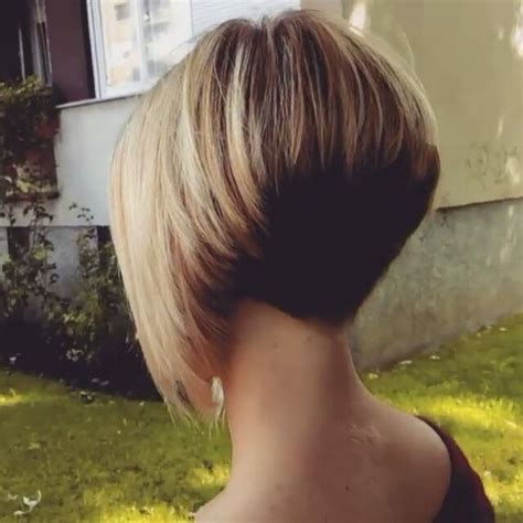 pic of back of shaved aline ahaircuts 25 best ideas about short aline bob on pinterest blonde