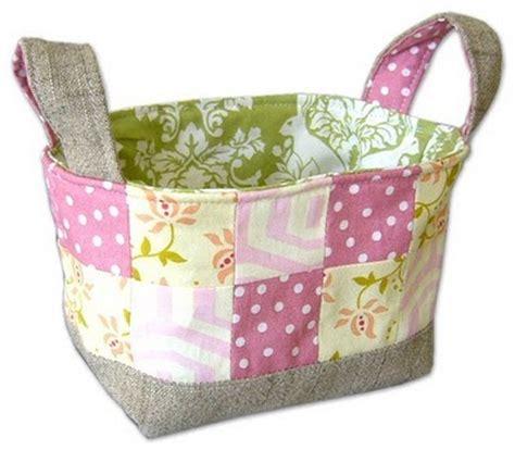 pattern for fabric organizer fabric basket bin bucket tutorials sewing content in