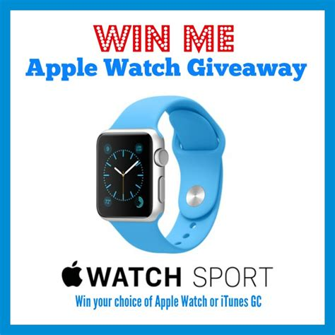 win apple watch sport or 349 itunes gc ends 5 29 - Watch Giveaways