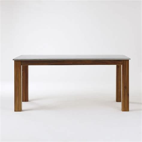 Rectangular Kitchen Table Rustic Kitchen Rectangular Dining Table West Elm