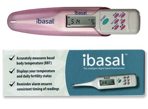 Termometer Ovulasi ibasal intelligent digital basal thermometer fertility charting thermometer