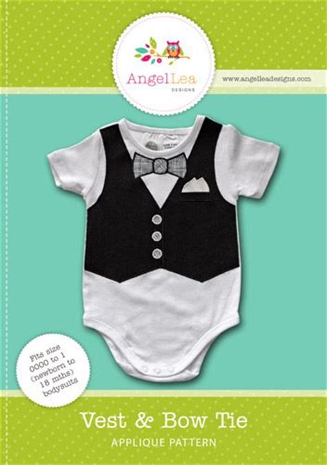 bow tie onesie template owl applique template vests shops and
