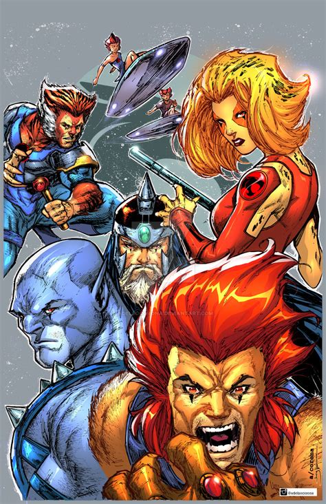 thundercats by adelsocorona on deviantart