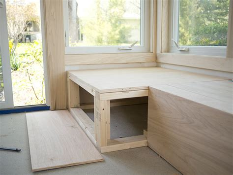 diy window bench woodworking build a window bench seat with storage plans