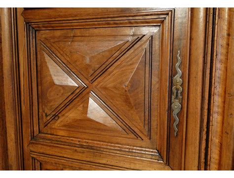 Carved Cabinet Doors Louis Xiii Cabinet Door Carved Walnut And Decorated With Points Seventeenth