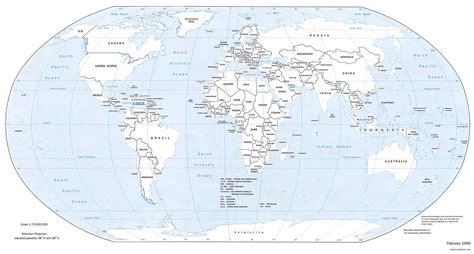 printable world map labeled printable political world map