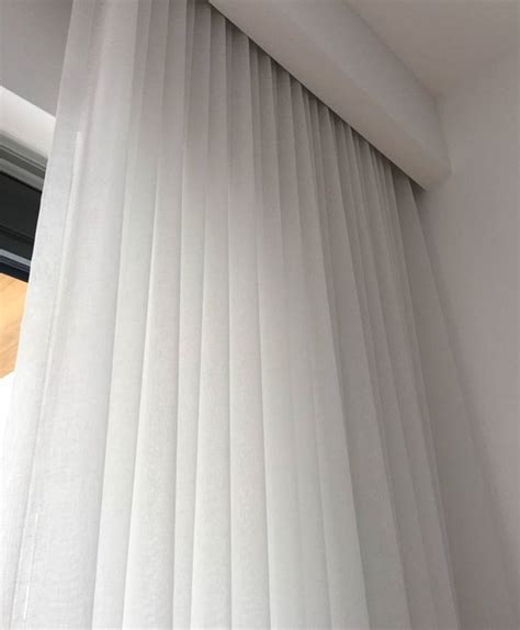 hidden ceiling curtain track 1000 ideas about sheer curtains on pinterest curtains