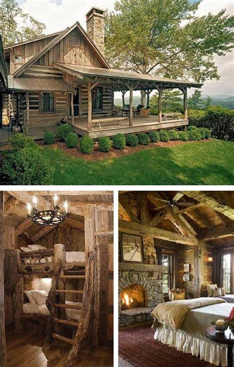 12 real log cabin homes take a tour