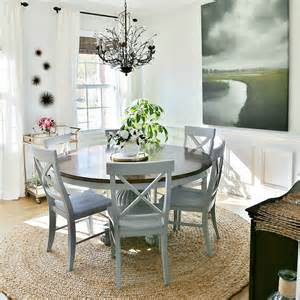 coastal dining rooms coastal dining room makeover sand and sisal