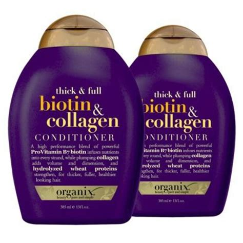 ogx hair products natural black hair biotin collagen and shoos on pinterest
