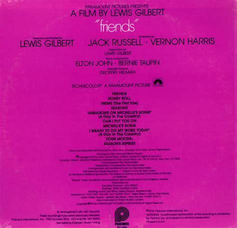 elton john friends elton john friends sealed us vinyl lp album lp record
