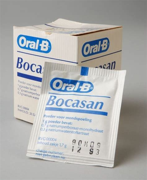 Bor Casan vierkant kartonnen doosje met 20 zakjes bocasan poeder