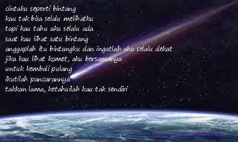 membuat puisi bintang puisi cinta puisina cintaku seperti bintang puisina