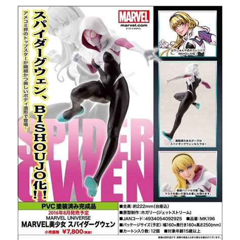 Bishoujo Marvel Spider bishoujo marvel spider gwen statue project