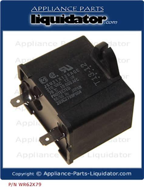 ge wr62x79 capacitor ge refrigerator capacitor 28 images genuine oem ge wr62x79 kenmore refrigerator run
