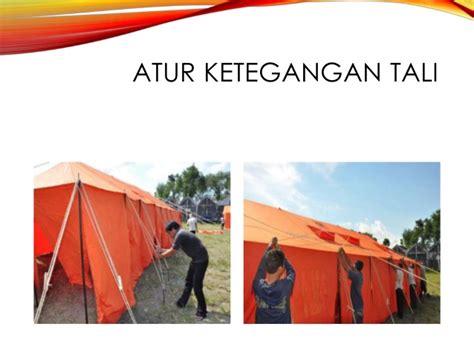 pasang bongkar tenda