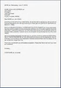 sle letter of request for delivery extension best