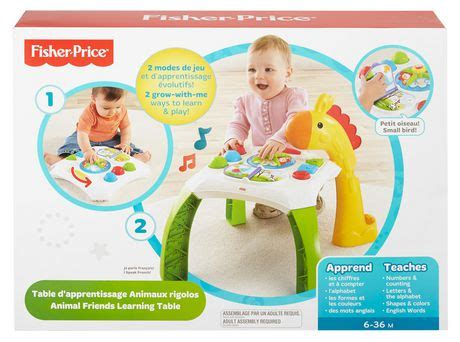 A Childs Library Of Learning Animal Freinds fisher price animal friends learning table walmart ca