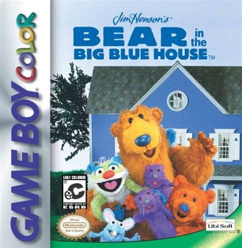 The Inthe Big Blue House by In The Big Blue House Nintendo Boy Color