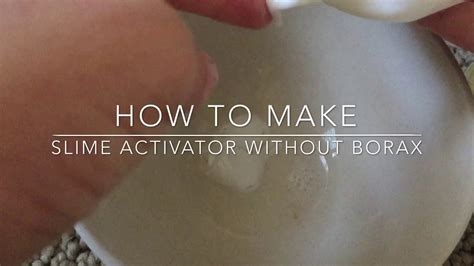 Collection of how to make slime activator borax solution youtube how to make slime activator borax solution youtube how to make slime activator without borax youtube ccuart Images