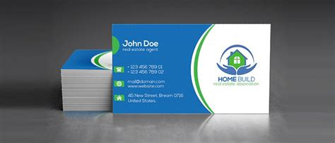 real estate business card templates free 100 free business cards psd 187 the best of free business cards