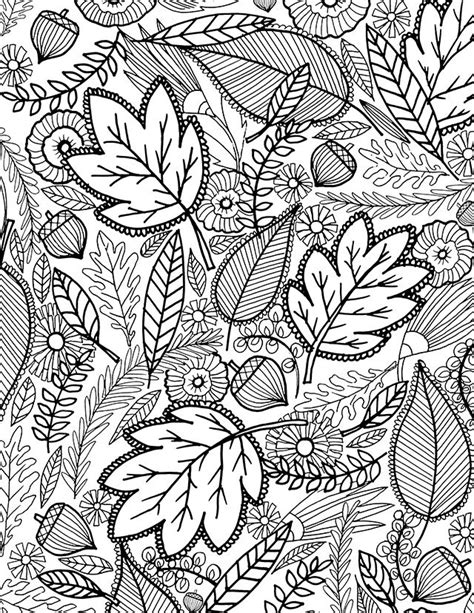 leaves fall down printable book a fall coloring page for you раскраски pinterest