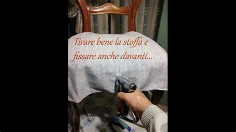 rivestire sedie come rivestire ricoprire una vecchia sedia fai da te