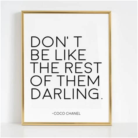 printable chanel quotes shop coco chanel wall decal on wanelo
