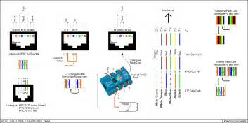 rj11 pinout 4 pin wiring diagram rj11 automotive wiring diagram