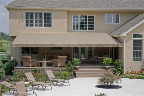 Custom Fabric Awnings by Canvas Patio Covers Landscape With Awnings For Home