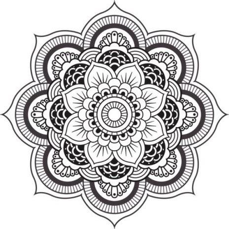 imagenes whatsapp mandalas las mejores mandalas en blanco y negro para colorear