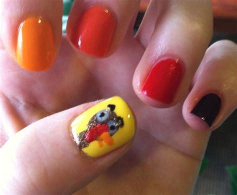 thanksgiving nail art elemental styles fall nail art