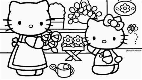 mewarna gambar hello kitty coloring pages mewarna gambar gambar minion untuk mewarnai auto design tech