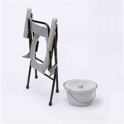 Age UK   Portable Commode   Folding Commode for Travel