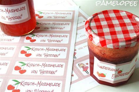 Etiketten Marmelade Free Download by Pamelopee Free Printables Etiketten F 252 R Marmelade Selbst