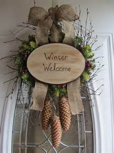Winter Wreaths For Front Door Wreaths For Front Door Winter Wreath To Adorn My Front Door