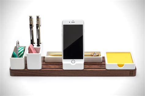gather modular desk organizer hiconsumption