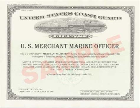 service license uscg launches merchant mariner certificate printing service gcaptain maritime