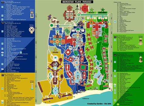 hotel del layout map layout iberostar paraiso maya the bucket list