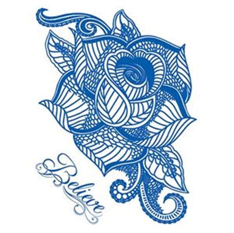 blue rose tattoo shop delft blue tattooforaweek temporary tattoos largest