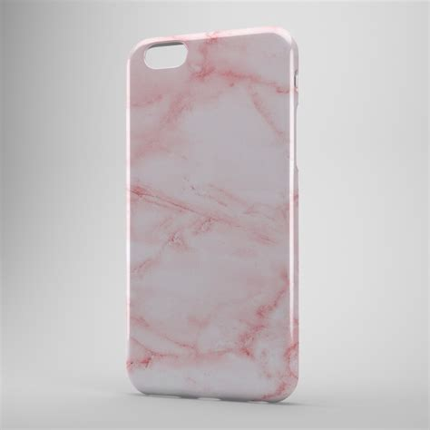 Marble Pastel Casing Smartphone pastel pink cracked marble style design phone