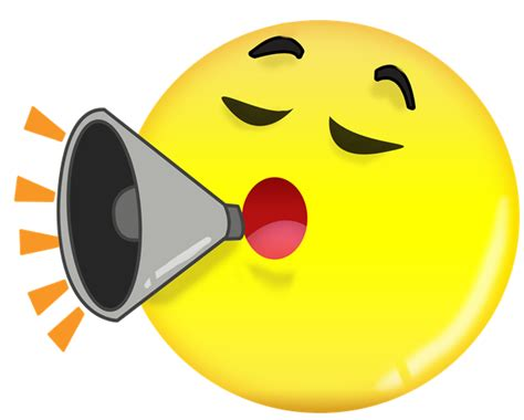 emoji yelling image gallery loud emoticon