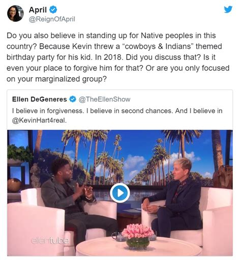 kevin hart ellen 2019 oscars host should still be kevin hart ellen